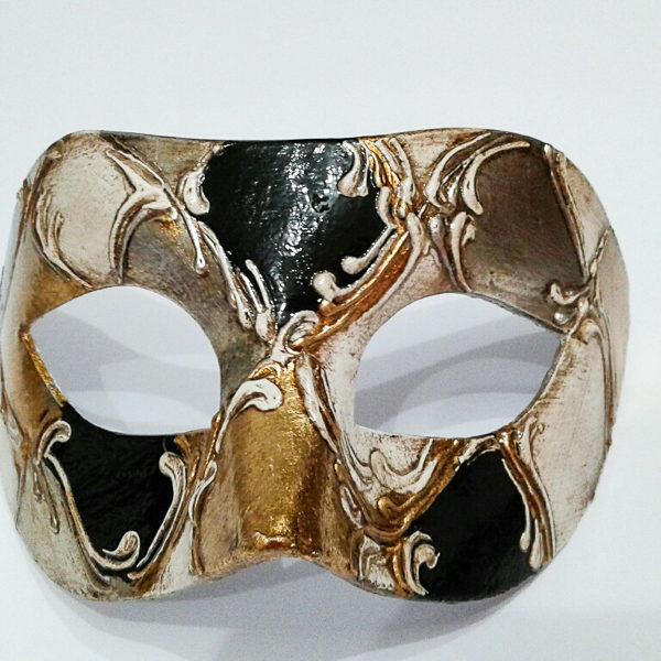 maschera veneziana Colombina in cartapesta
